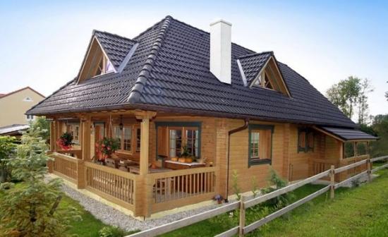 Proiect Casa Din Lemn.Iata Cum Se Construiește O Casa Din Cărămizi De Lemn Un Proiect Cu